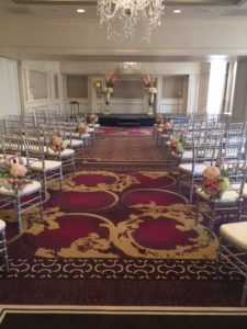 Playing for a wedding at the Ritz-Carlton, Atlanta!